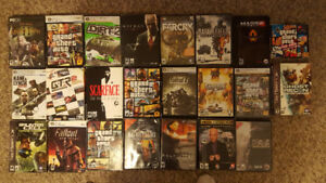 Several PC Games For Sale