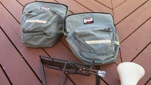 Des sacs pour le vélo avec rack