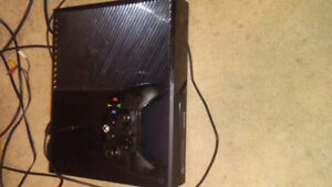 Xbox one console and 1 wired controller