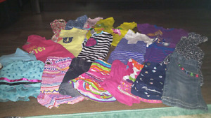 Size 3 - Large lot of girls clothing (includes 2 spring jackets)