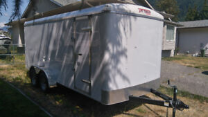 7x16 enclosed trailer new