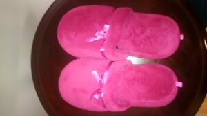 HOT PINK COZY SLIPPERS (new)