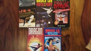 collection 5 vhs Bruce Lee