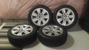 MICHELIN WINTER TIRES ON BMW RIMS