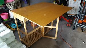 Gateleg table.
