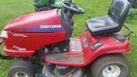 Craftsman Rider Lawnmower