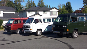 Wanted Westfalia vanagon camper