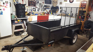 8 Ft Utility Trailer With Ramp