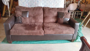 Brown Couch (Best offer will be accepted)