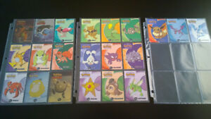 21 cartes Pokémon TOPPS dont 4 Shiny