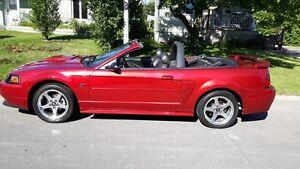 2003 Ford Mustang GT Cabriolet et manuelle