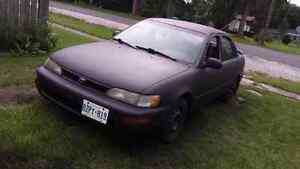 1995 TOYOTA COROLLA STILL LOTS OF LIFE