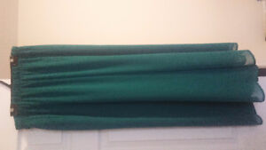 TEAL CHIFFON SKIRT FROM TOPSHOP