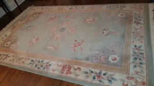 100% wool rug - super thick and clean