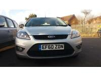 2011 60 FORD FOCUS 1.6 ZETEC 5 DOOR (100ps).VERY NICE LOWMILEAGE EXAMPLE.FINANCE