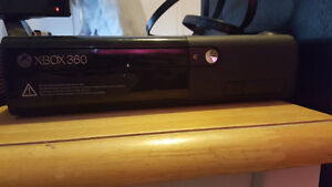 500 gb xbox 360 and 3 games