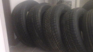 New 215 65 r 17 winter tires 4 for $275