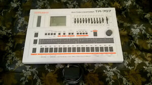 Roland TR-707 w/ Power Supply 1980's