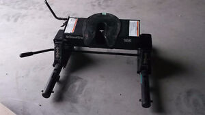 Used Draw Tite 16K Fifth Wheel Hitch with slider
