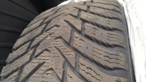 4 Nokian Hakkapelitta snow tires for sale