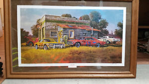 Dale Klee Signed print *** CHEVELLES ***