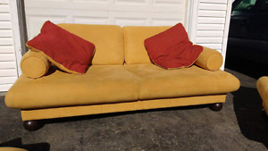 Microsuede Sofa Set 3pc FREE DELIVERY