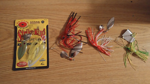 4 fishing buzzbait lures