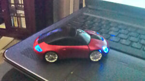 USB Wireless Optical Mouse 2.4GHz 1600DPI 3D Car Shape Mice for