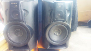 Sony Stereo Speakers - sound audio System