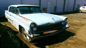 1958 LINCOLN AND A PARTS CAR 2 FOR 1 $2900 O.B.O.