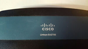 Linksys Ea2700 Cisco router