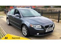 2011 Volvo S40 DRIVe (115) SE Lux Edition wit Manual Diesel Saloon