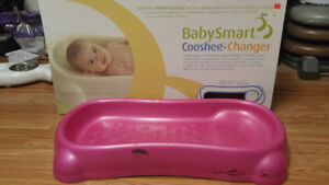 Baby items - Diaper changing station and breastfeeding pillow
