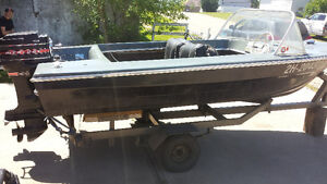 14ft boat with 35 hp Mercury