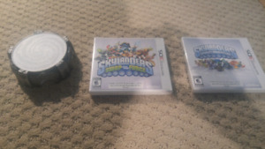 Skylanders swap force and spyros adventure for 3ds