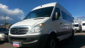 2009 Dodge Sprinter WHEELCHAIR ACCESSIBLE VAN, EX-RED CROSS VAN