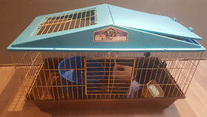Price reduced: Large cage and accessories