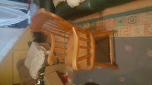 6 Solid Wood Chairs