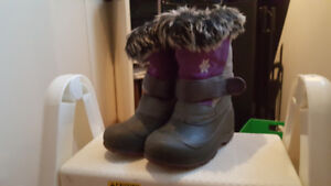 Bottes d'hiver fille taille 12