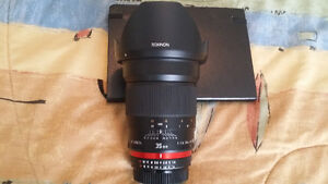 Rokinon 35 mm f/1.4 UMC Lens For Nikon With Automatic AE Chip wi Windsor Region Ontario image 2