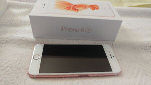 Iphone 6s 32gb rose 4 months new