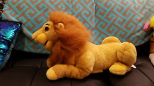 Vintage Lion king lot and Disneys Lion guard