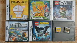 DS et jeux DS et DS3D
