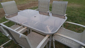 Patio table and 6 chairs Peterborough Peterborough Area image 1