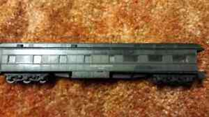 HO scale train  observation car