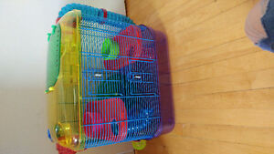 CAGE HAMSTER/SOURIS
