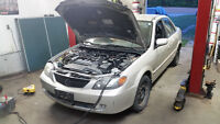 2002 Mazda Protege part out