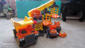 Fisher-Price Big Action Construction Site with Big Dump Truck