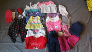 Huge lot of 2t girl clothed