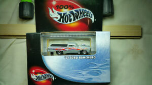 100% HotWheels limited edition 1/64 scale metal collection  in t